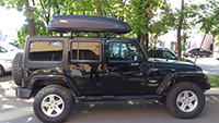 Thule Pacific 780 черный 631801 на Jeep Wrangler, фото 1
