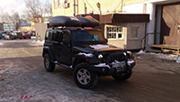 Thule Pacific 780 черный 631801 на Jeep Wrangler, фото 2